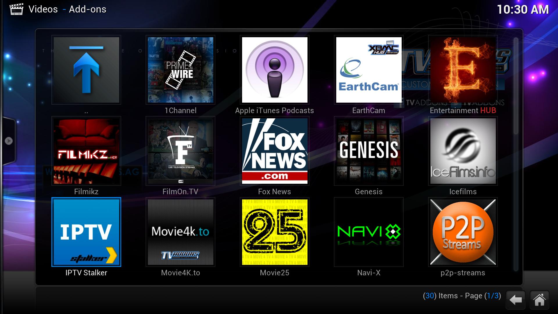 IPTV Stalker fix for Kodi